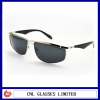 Polarized Men's Metal Sunglasses Aviator Eye Shape