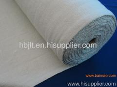 Ceramic fiber cloth as safety blankets for electric power plant