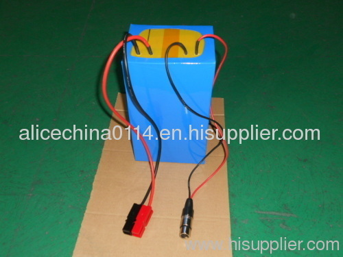36v electric vechile rechargeable lithium battery packs