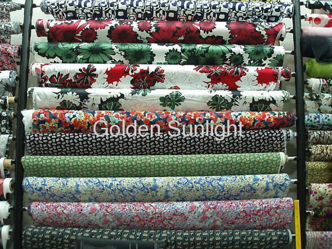 Vogue polyester chiffon fabric for women