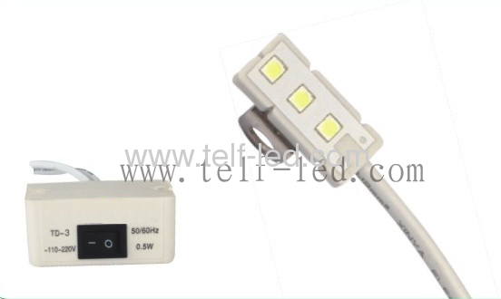 Magnet Sewing Machine light with 3pcs SMD led source