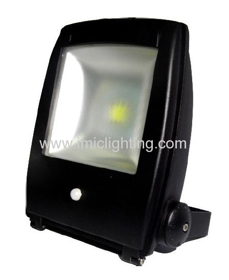 High lumen 50W sensor LED Flood Light with die-casting Aluminium body