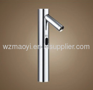 Brass body chrome-plated finished sensor faucet