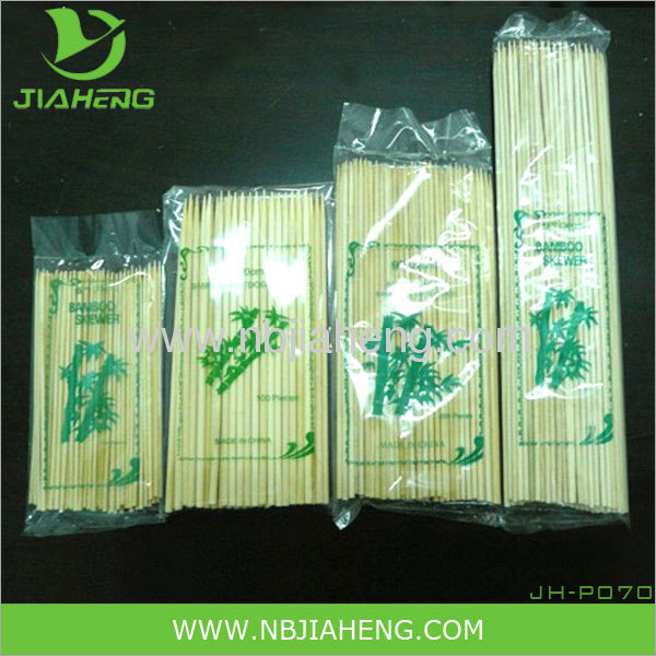 2013 top selling 100% natural bamboo barbecue skewer