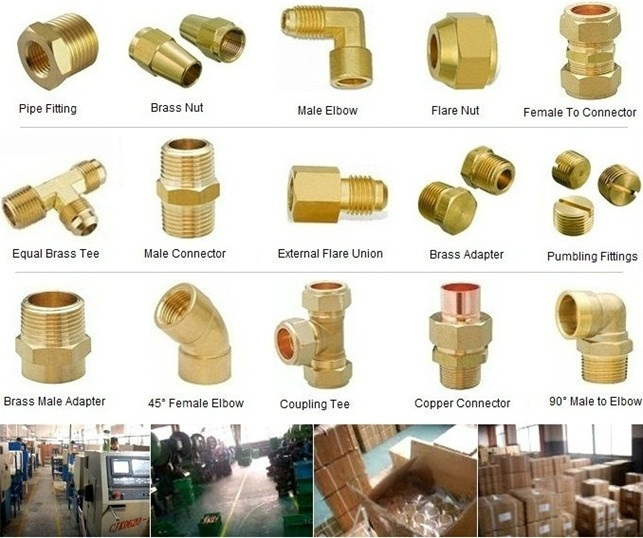 Brass Pipe Thread Fitting