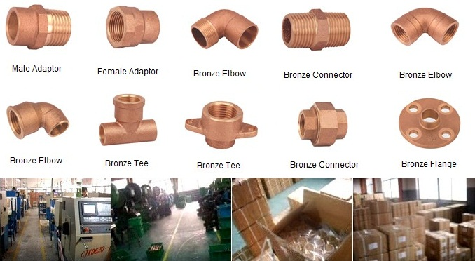 Bronze Fitting for Plumbing