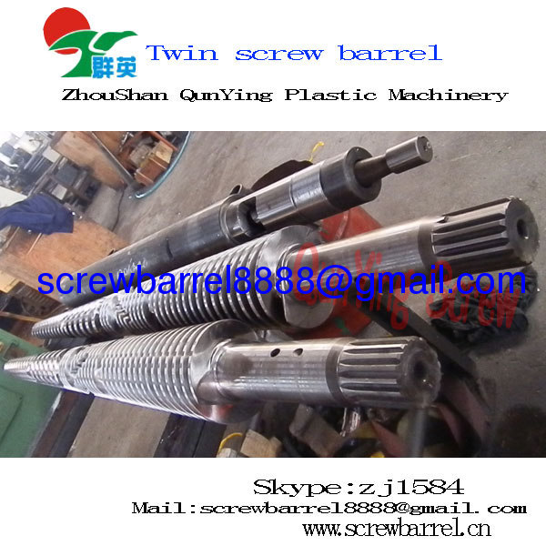 conical twin screw cylinder