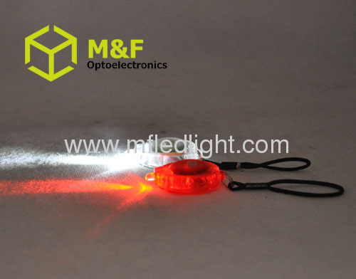 High power 1LED ABS led flashlight keychain