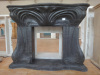 Cheap marble fireplace mantel