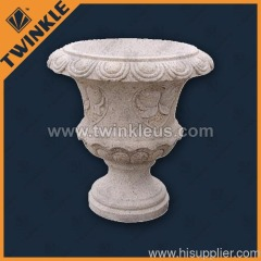 garden decorative stone pots