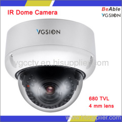 NEW Design 680 TVL 4-Axis Day & Night Vandal Proof Dome Camera