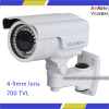 "1/3"" High sensitivity CCD Sensor Camera Waterpoof Intelligent Cctv Ir Camera for Low Temperature Location Surveillance"