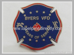 Army soft ename lapel pins with 1.25