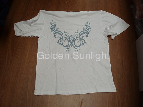 Stock Men's Low Price Stock T-Shirts in Good Quality