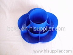 rotating plastic candy plates