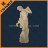 Western marble female statue