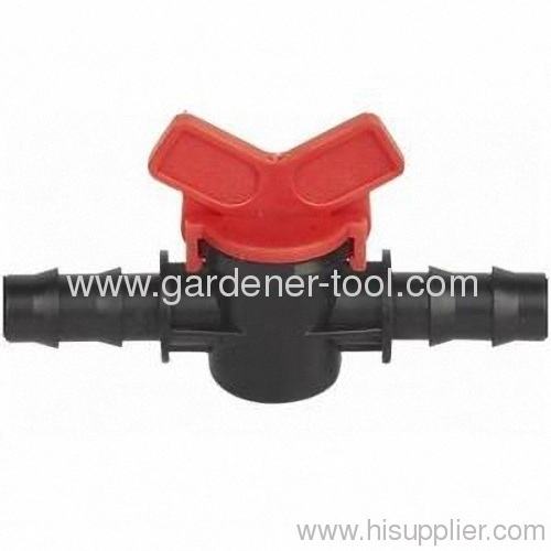 Plastic Valve For Micro Irrigation With Specification Φ16mmXΦ16mm