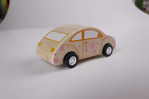 pull-back motor(Beetle Car) wooden toys