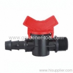 "Φ16mmX1/2"" Plastic Pipe Valve For Micro Irrigation"