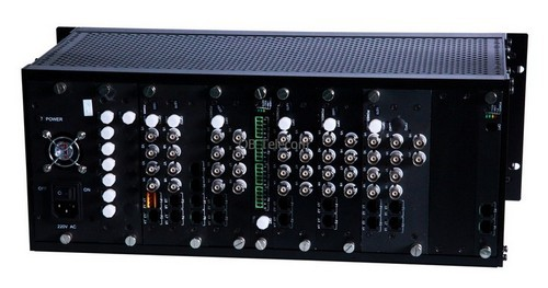 17-64 Channel Video Fiber Optic Multiplexer