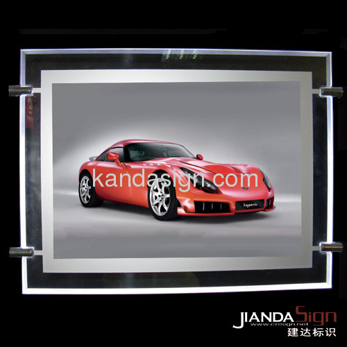 Crystal slim light boxes(one side &double sided )
