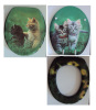 MDF toilet seats decorative toilet seat cover