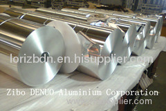 Lidding Aluminium Foil in Jumbo Roll Thickness:0.03-0.045mm