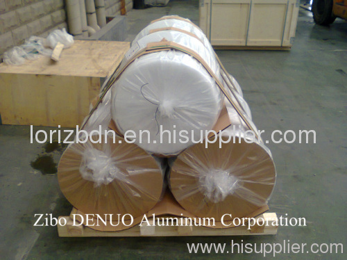 Jumbo roll silver color aluminium foil for Container use