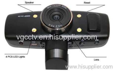 CPUGPS & G-Sensor Vehicle Portable Car DVR Camera