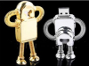 8GB metal robot usb drive with custom logo for gifts