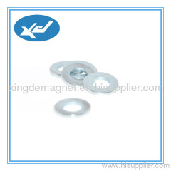 Neodymium ring magnet Sintered NdFeB use in speaker permanent magnet