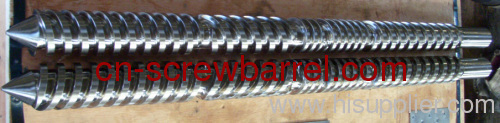 Weber 67mm parallel twin screw barrel for profile extrusion