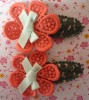 flower-shaped fashion hair clips