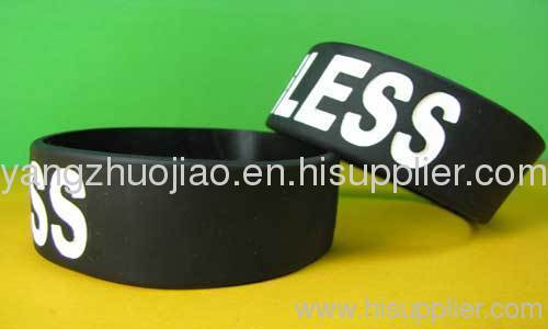 Energy Silicone Wristband, Adult and Children Sizes are Available