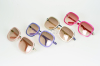 colourful fashion refreshing acetate sunglasses