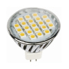MR16 Aluminium with Cover LED Bulb SMD Chips Replacing Halogen Lamp