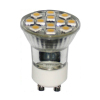 GU10 LED Bulb Plastic Housing SMD Chips Replacing Halogan Lamps