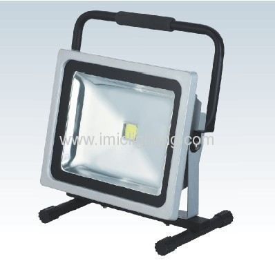 50W Aluminium LED Flood Light with portable bracket