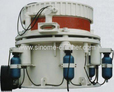 High Performance Multi-cylinder Hydro cone crusher for sale HP145