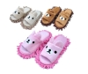 slippers for microfibre chenille lazy man floor cleaning slipper