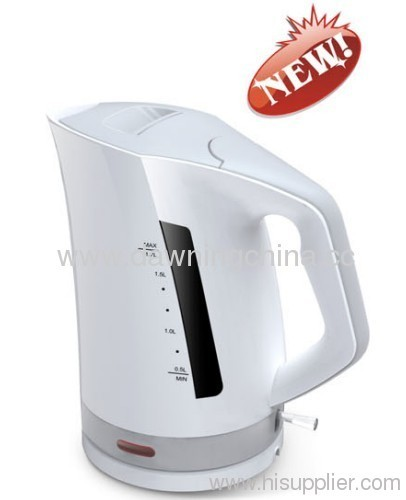 electrical plastic kettle CE certed