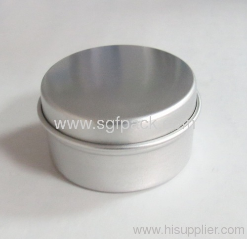 15ml Aluminum cream jar powder jar candle jar ewelry box casket ring box Watch box aluminum container gold supplier