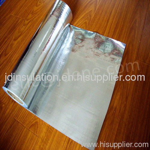 Heat insulation material aluminum foil with woven fabric