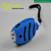 2LED hand crank blue fish small dynamo torch