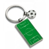 Pitch and Football Keyring Made of Zinc Alloy
