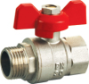 Brass Ball Valve with Aluminum Butterfly handle