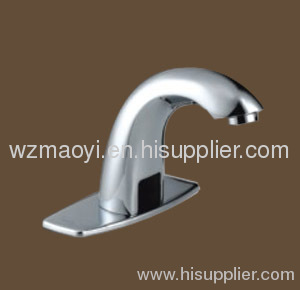 Brass body,chrome-plated finished automatic sensor faucet
