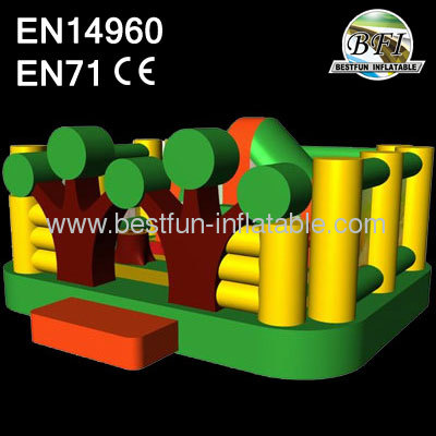 Forest Inflatable Indoor Bouncer