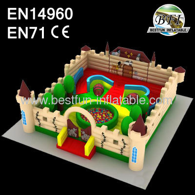 The Three Musketeers Inflatable Amusement Park