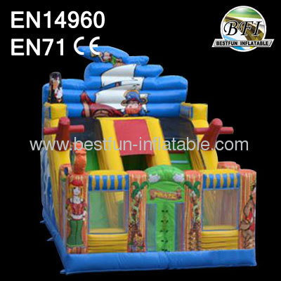 Inflatable Indian Slide For Kids